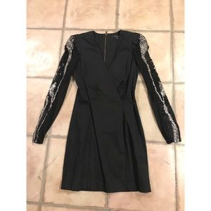 French Connection Embellished Dress